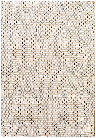 "Home Accent Laguerre 5' x 7'6"" Area Rug, Brown/Beige, large"