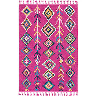 "Home Accents Love 7' 10"" x 10' Rug, Multi, large"