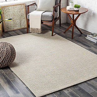 "Home Accent Jacome 5' x 7'6"" Area Rug, Brown/Beige, rollover"