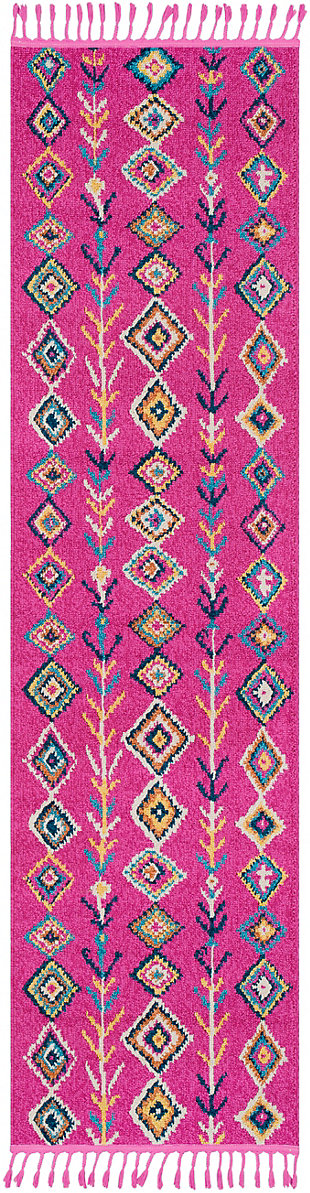 "Home Accents Love 2' 7"" x 7' 3"" Runner, Multi, large"