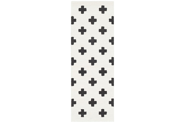 "Home Accents Moroccan Shag 2' 7"" x 7' 3"" Runner, , large"