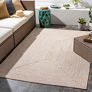 "Home Accent Russum 5' x 7'6"" Area Rug, Brown/Beige, rollover"