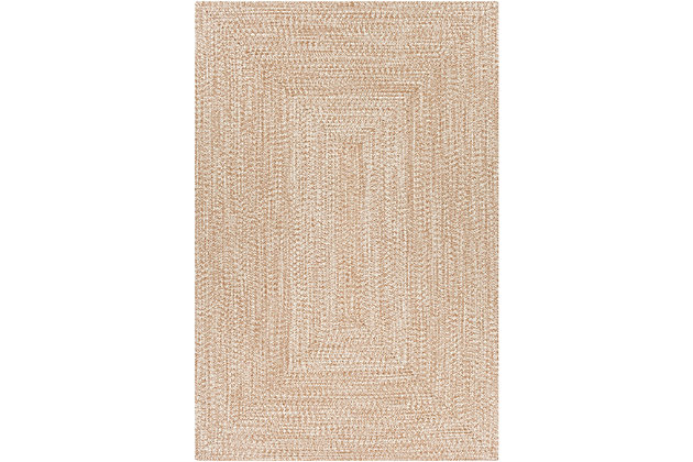 """Home Accent Russum 5' x 7'6"""" Area Rug, Brown/Beige, large"""