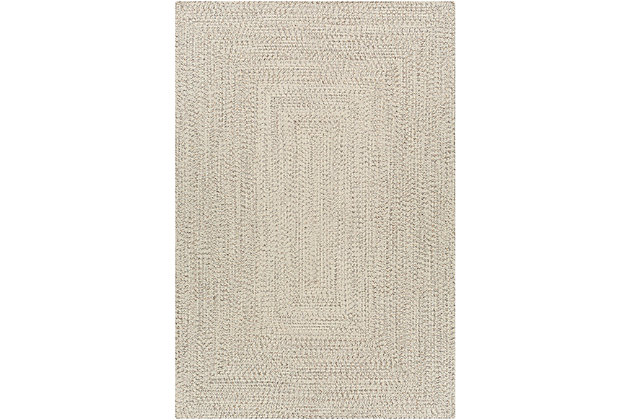 """Home Accent Russum 7'6"""" x 9'6"""" Area Rug, Black/Gray, large"""