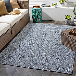 """Home Accent Russum 5' x 7'6"""" Area Rug, Blue, rollover"""