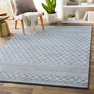 "Home Accent Claybrook 5'3"" x 7'7"" Area Rug, Blue, rollover"