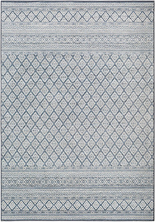 "Home Accent Claybrook 5'3"" x 7'7"" Area Rug, Blue, large"