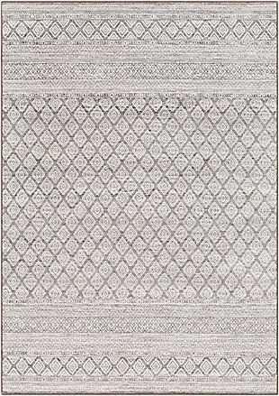 """Home Accent Claybrook 2' x 2'11"""" Accent Rug, Black/Gray, large"""