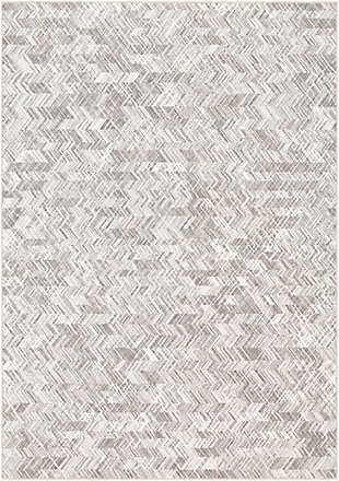 "Home Accent Prete 5'3"" x 7'7"" Area Rug, Black/Gray, large"