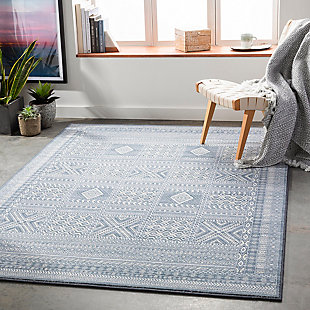 "Home Accent Needham 5'3"" x 7'7"" Area Rug, Blue, rollover"