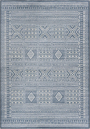 "Home Accent Needham 5'3"" x 7'7"" Area Rug, Blue, large"