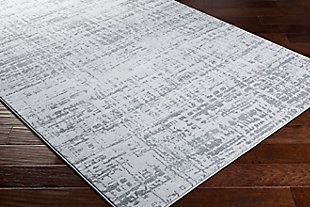 """Home Accent Thibault 5'3"""" x 7'7"""" Area Rug, Black/Gray, rollover"""