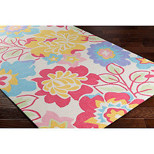 Home Accents Peek-A-Boo 3' x 5' Rug, Multi, rollover