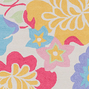 """Home Accents Peek-A-Boo 7'6"""" x 9'6"""" Rug, Multi, large"""