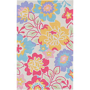 "Home Accents Peek-A-Boo 7'6"" x 9'6"" Rug, Multi, large"
