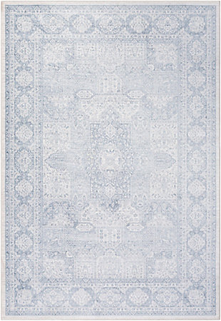 "Home Accent Noland 5'3"" x 7'3"" Area Rug, Blue, large"