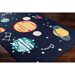 "Home Accents Peek-A-Boo 5' x 7'6"" Rug, Multi, rollover"