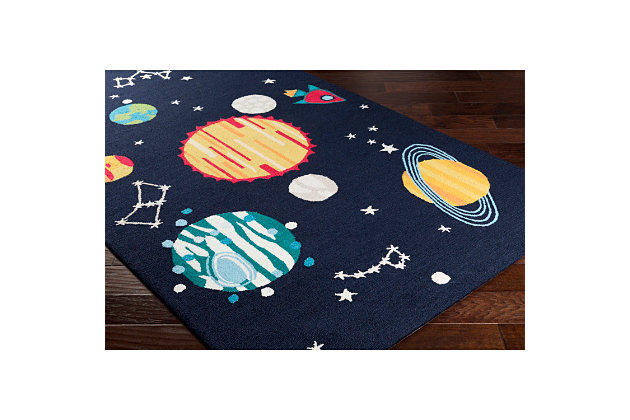 Home Accents Peek-A-Boo 3' x 5' Rug, Multi, large