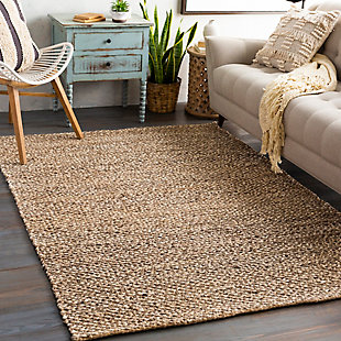 "Home Accent Cassady 5' x 7'6"" Area Rug, Brown/Beige, rollover"