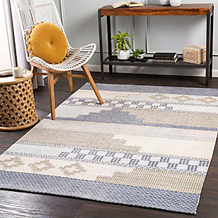 "Home Accent Rosner 5' x 7'6"" Area Rug, Brown/Beige, rollover"