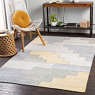 "Home Accent Newborn 5' x 7'6"" Area Rug, Brown/Beige, rollover"