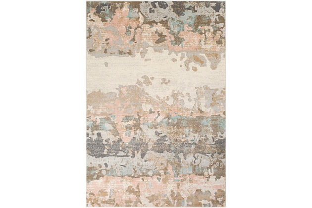 """Home Accent Sutterfield 5'3"""" x 7'3"""" Area Rug, Blue, large"""