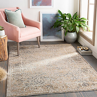 "Home Accent Rawls 5'3"" x 7'3"" Area Rug, Brown/Beige, rollover"