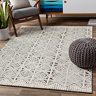 "Home Accent Macarthur 5'3"" x 7'3"" Area Rug, Black/Gray, rollover"