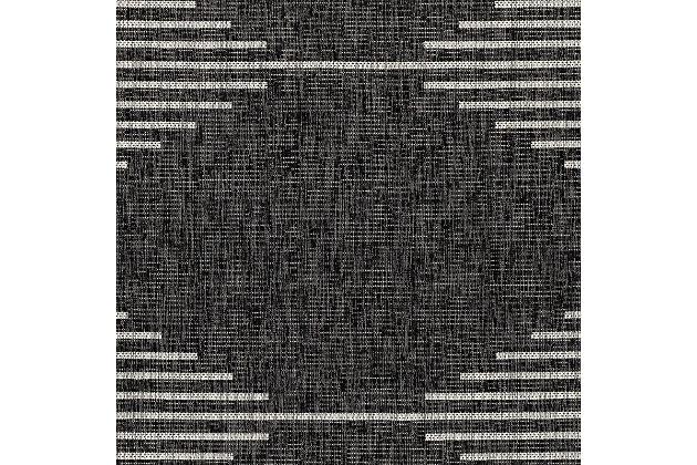 "Surya Eagean 5'3"" x 7'7"" Area Rug, Black/Gray, large"