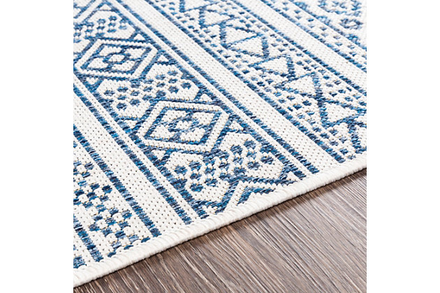 "Surya Eagean 5'3"" x 7'7"" Area Rug, Blue, large"
