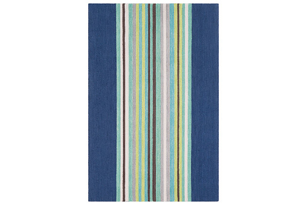 Home Accents Technicolor 2' x 3' Rug, , large