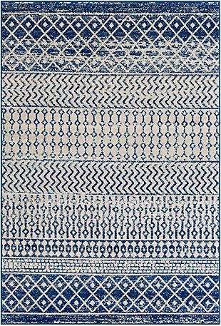 """Surya Elaziz 7'10"""" x 10'3"""" Area Rug, Blue, large"""