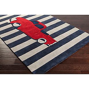 Home Accents Young Life 5' x 8' Rug, Red/White/Blue, rollover