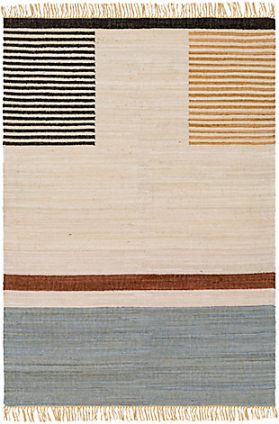 "Home Accent Lynwood 5' x 7'6"" Area Rug, Brown/Beige, large"