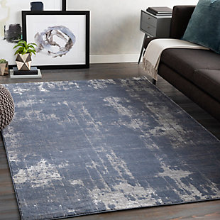 "Home Accent Janae 5'3"" x 7'3"" Area Rug, Blue, rollover"