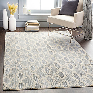 "Home Accent Kendra 5'3"" x 7'3"" Area Rug, Black/Gray, rollover"