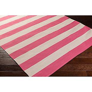 "Home Accents Artistic Weavers City Park Lauren Rug 2'6"" x 8', Pink/Cream, rollover"
