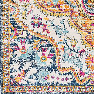 "Surya Floransa 5'3"" x 7'1"" Area Rug, Orange, large"