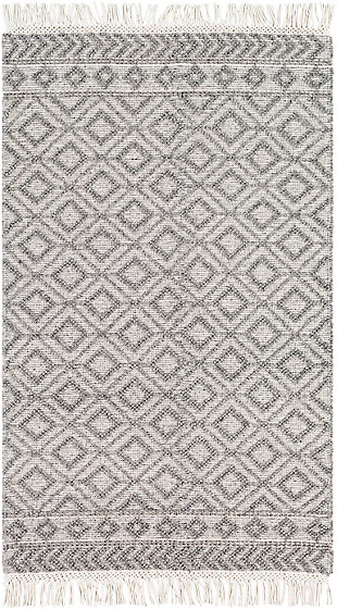 "Home Accent Tolar 5' x 7'6"" Area Rug, Black/Gray, large"