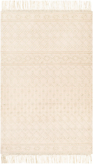 "Home Accent Samsel 5' x 7'6"" Area Rug, Brown/Beige, large"