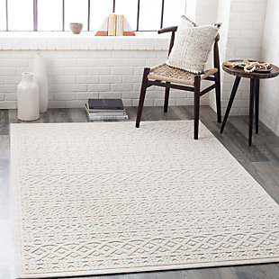 """Home Accent Osby 5'3"""" x 7'3"""" Area Rug, Brown/Beige, rollover"""