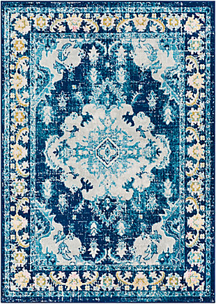 "Home Accent Bowne 5'3"" x 7'3"" Area Rug, Blue, large"
