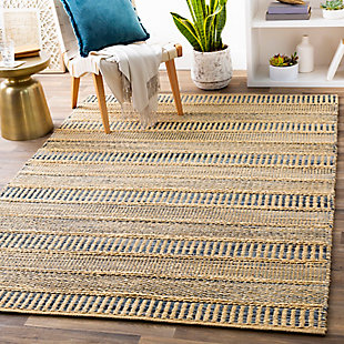 Home Accent Pershall 5' x 8' Area Rug, Blue, rollover