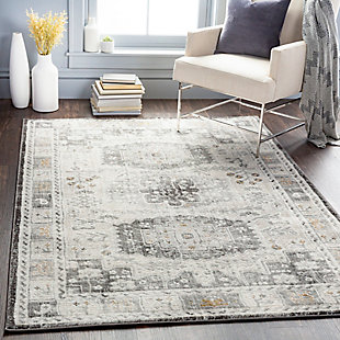 """Home Accent Grimmer 5'3"""" x 7'3"""" Area Rug, Brown/Beige, rollover"""