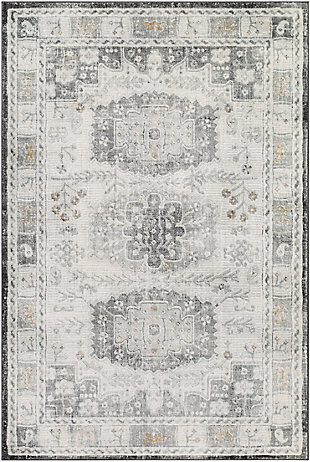 """Home Accent Grimmer 5'3"""" x 7'3"""" Area Rug, Brown/Beige, large"""