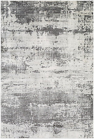 """Home Accent Elliot 5'3"""" x 7'3"""" Area Rug, Black/Gray, large"""