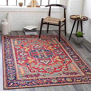 """Home Accent Chamberland 5' x 7'6"""" Area Rug, Blue, rollover"""