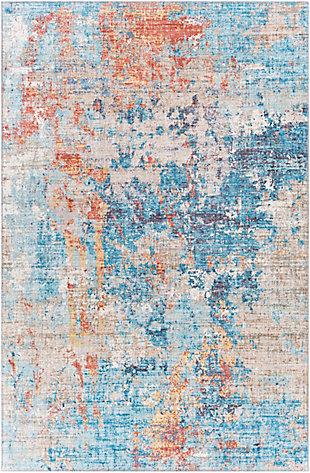 "Home Accent Koran 5' x 7'6"" Area Rug, Blue, large"