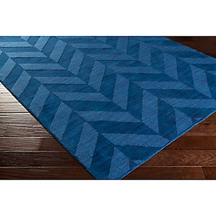 Home Accents Artistic Weavers Central Park Carrie Rug 3' x 5', Blue, rollover