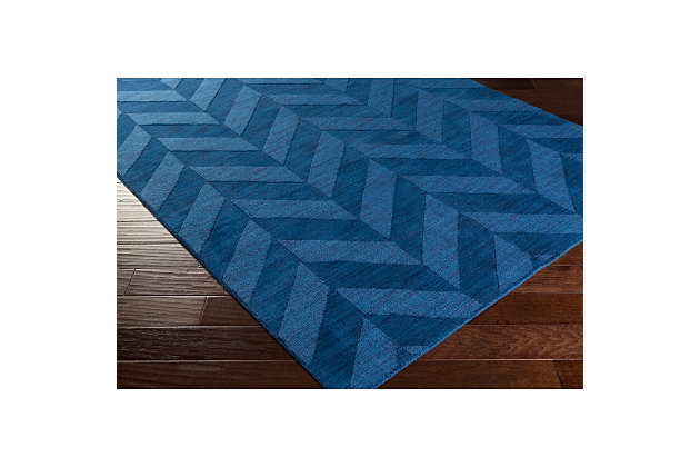 "Home Accents Artistic Weavers Central Park Carrie Runner 2'3"" x 8', Blue, large"